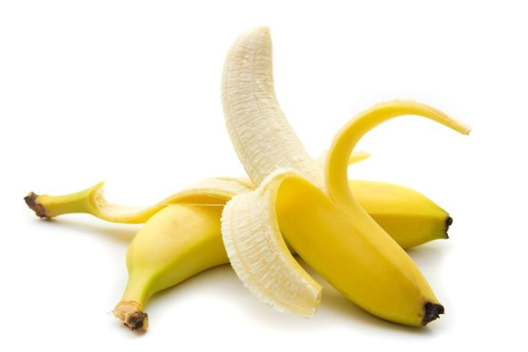 14749355 - banana isolated on white with clipping path